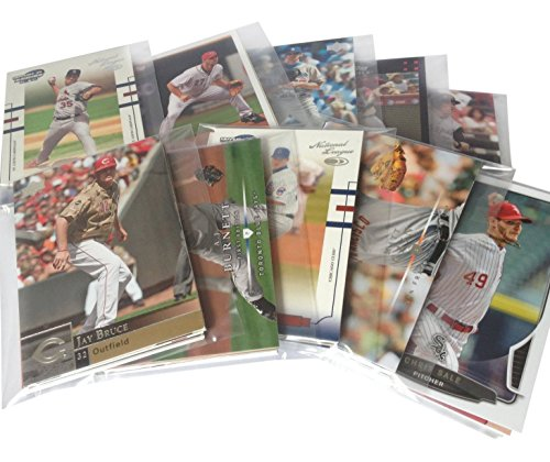 MLB Baseball Cards Party Favors With Modern Era Cards in each Set - 5 Sets of 5 Cards (Best Baseball Card Investments)