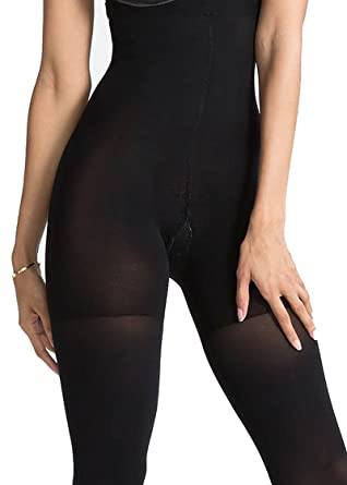 Andrea Bucci 100 Denier So Slim High Waist Tights Shaping Tights Hourglass Look