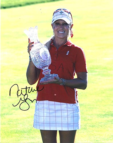 - Natalie Gulbis Signed Photo - SOLHEIM CUP 11X14 w COA - Autographed Golf Photos