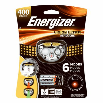 Eveready Battery HDE32E Vision Ultra Head Light, Spot & Flood - Quantity 4