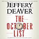The October List Audiobook by Jeffery Deaver Narrated by January LaVoy