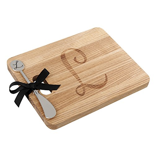 (Monogram Fraxinus Mandshurica Solid Wood Cheese Board With)