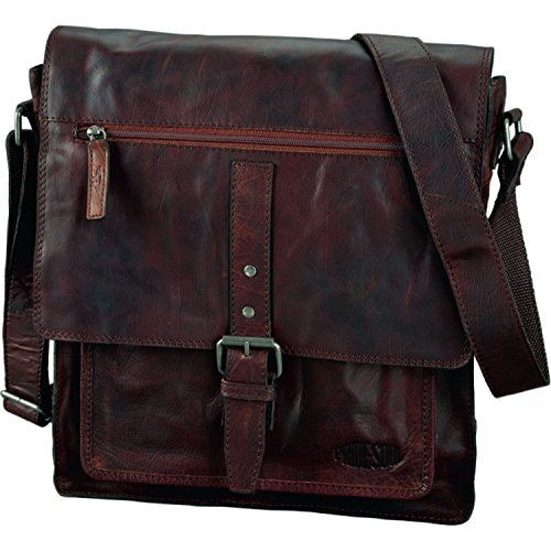 Paperflow Pride and Soul Ethan 15-Inch Laptop Leather Shoulder Bag (47184) by Paperflow