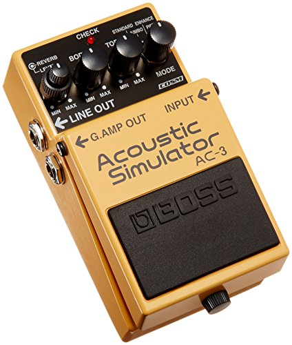 Boss AC-3 Acoustic Simulator Pedal by BOSS Audio