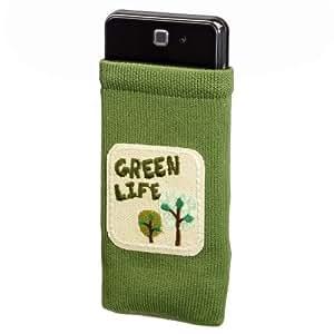 Hama Green Life - fundas para teléfonos móviles (65 x 15 x 85 mm) Verde