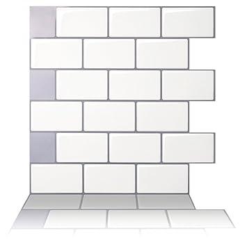 Tic Tac Fliesen anti-mold Abziehen und Aufkleben Wand Fliesen in ...
