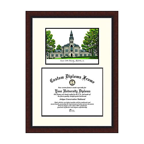 Campus Images NCAA University of Kansas Legacy Scholar Frame by Campus Images