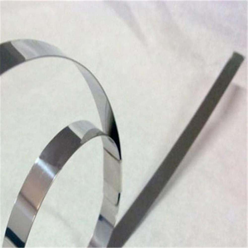 JJDD 10m Pure Nickel Strip,99.96/% Nickel 0.2x8mm for 18650 Power Battery Connection Welding Low Internal Resistance Spot Welding Equipment