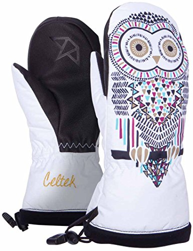 Celtek Women's Bitten By A Womittens Owl Mitts, Medium