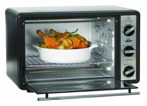 Sensio 13348 Bella Cucina 1500-Watt 6-Slice Toaster Oven/Bro