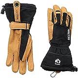 Hestra Unisex Narvik Wool Terry 5 Finger Gloves Black 9 & Knit Cap Bundle