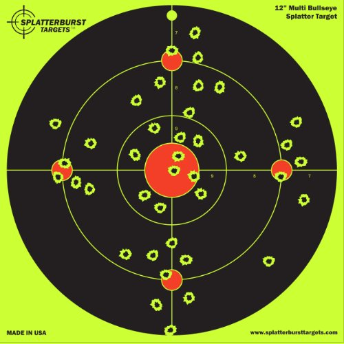 10-Pack-12-inch-Multi-Bullseye-Splatterburst-Shooting-Targets-Gun-Rifle-Pistol-AirSoft-BB-Gun-Pellet-Gun-Air-Rifle