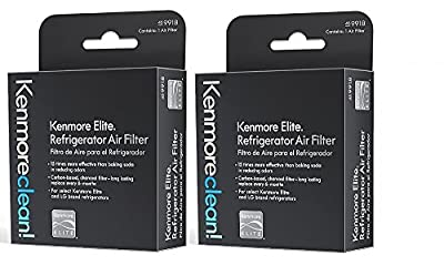 Kenmore Elite 469918 Refrigerator Air Filter, 2 pack