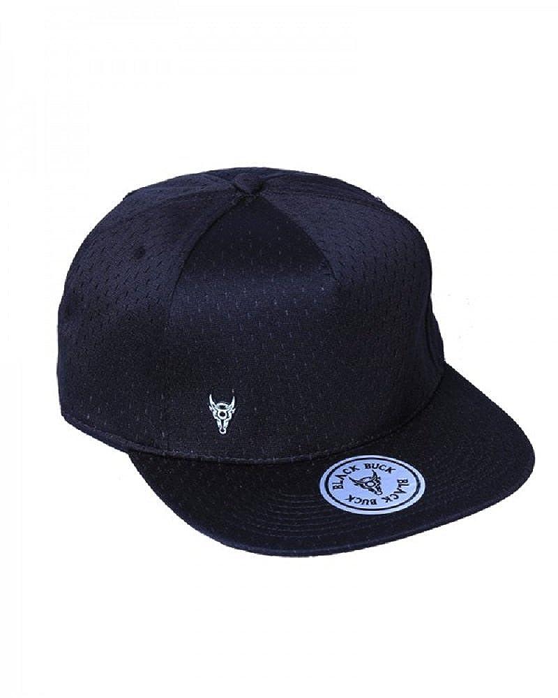 33ec68bb64f BlackBuck Black Color Adjustable Hip hop Cap for Men (BB-8701HC)   Amazon.in  Clothing   Accessories