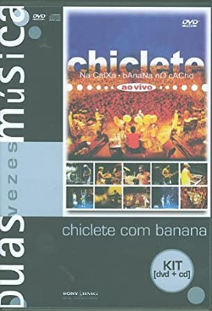 Banana No Cacho Kit Dvd + Cd Chiclete Na Caixa - Chiclete Com Banana: Amazon.es: Cine y Series TV
