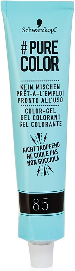 Schwarzkopf #Pure Color Washout 8.5 - Tinte para el cabello (60 ml), color rubio caramelo