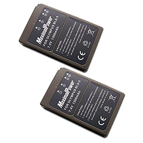 Amazon.com : Maximal Power DB OLY BLS-5 Replacement Battery ...