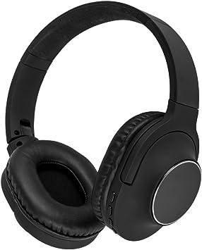 Akai A58069 - Auriculares inalámbricos con micrófono Integrado para Samsung, iPhone, iPad, Reproductores MP3 y tabletas Negro: Amazon.es: Electrónica