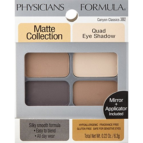 Mat Col Quad Eye Shadow Canyon,Physicians Formula I,3882 (Best Eyeshadow For Gray Eyes)