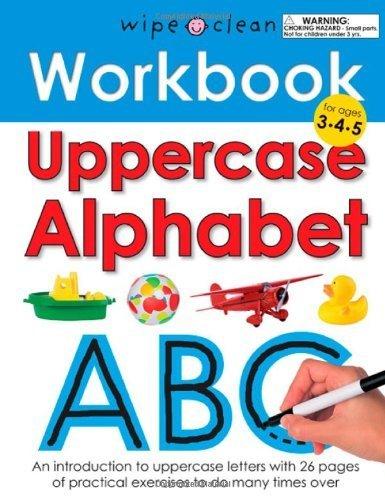 Workbook Uppercase Alphabet Priddy 2010 06 08