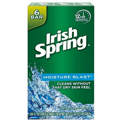 72 Bars of Irish Spring Moisture Blast Moisturizing Bar Soap Only $7.98