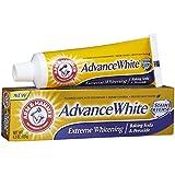 baking soda whitening - ARM & HAMMER Advance White Baking Soda & Peroxide Toothpaste, Extreme Whitening 4.3 oz