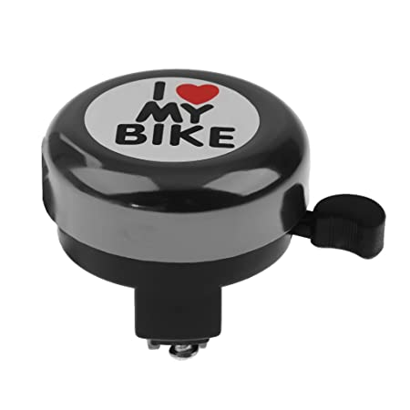 Generic Boys Girls Bike Bell Children Kid Bicycle Ring Kids Child Cycling Ringer Cycle Sound - Green Purple Silver Blue Gold Black Red
