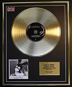 Ariana Grande/Edición limitada/marco Disco de Oro CD y