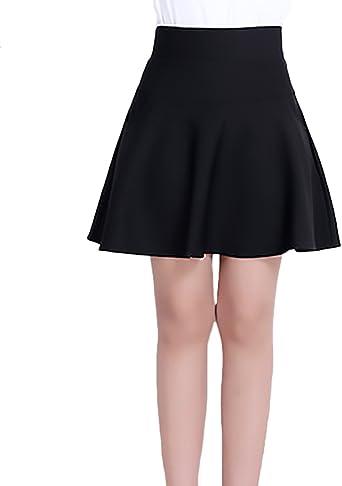 Minifalda Verano Mujer Elegante Sencillos Diario Slim Fit ...