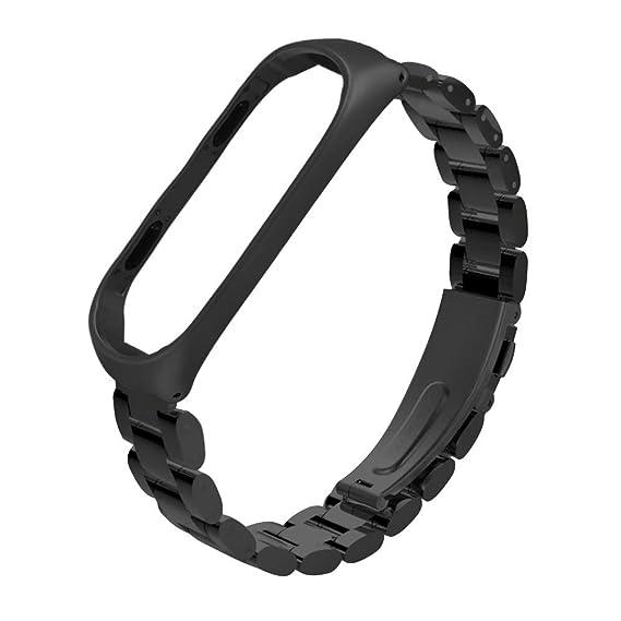 Intelligente Elektronik Neue Magnetische Schleife Edelstahl Uhr Band Strap Für Xiao Mi Mi Band 3 Ersatz Armband Verstellbaren Riemen