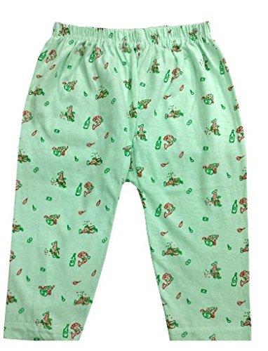 Rebizo Baby Boy's and Girl's Cotton Pyjama (Random Colours, 1-3 Months) -Set of 6