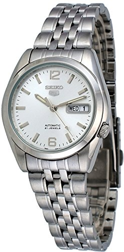 Jewels Automatic Watch - Seiko Men's SNK385K Automatic Stainless Steel Watch