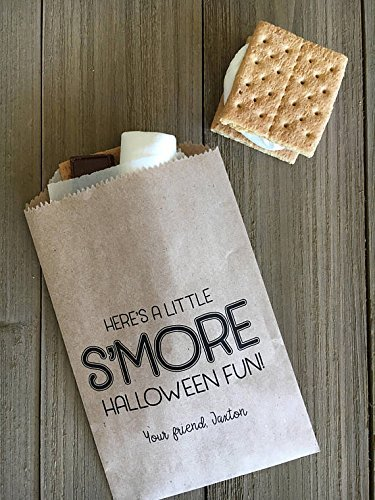 S'mores Favor Bags, Halloween Treat Bags, Party Favors, 25 bags ()
