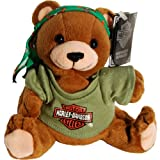Harley Davidson Motorcycle Manifold Max Teddy Bear Bean Bag Plush
