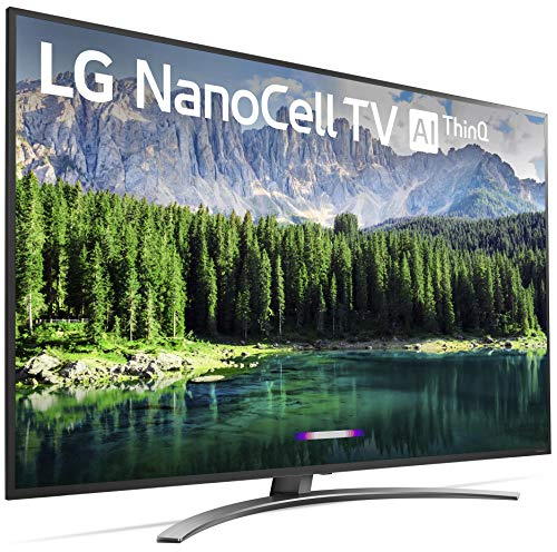 LG 75SM8670PUA Nano 8 Series 75 4K Ultra HD Smart LED NanoCell TV (2019)