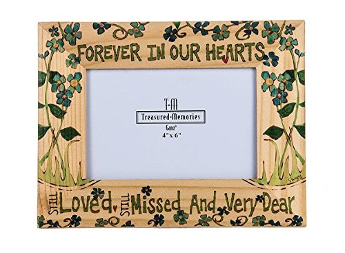 Picture Frame Pet Stocking (Painted Peace Photo Frame - Forever in our Hearts)