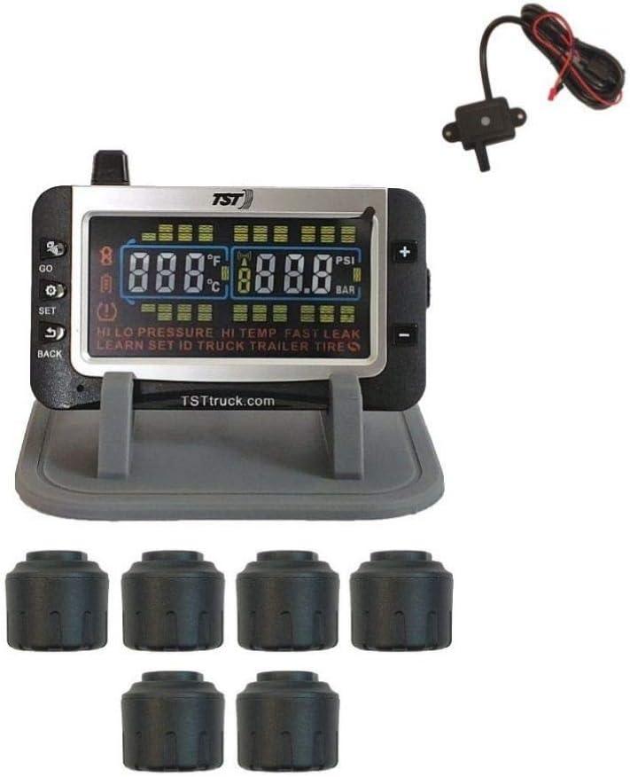 B078P5GG76 TRUCK SYSTEM TECHNOLOGIES TST507RV6C 507 Tpms W/6 Cap Sensors 51GdME7jcuL