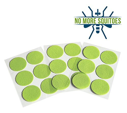 NO MORE SQUITOES Mosquito Repellent Patch 60 Units 2 X 30-Unit Resealable Bag 100% Natural Mosquito Repellent Deet Free Guaranteed 2 Work Fast & Easy Repell All Insects Kid Safe Camping Fishing Hiking