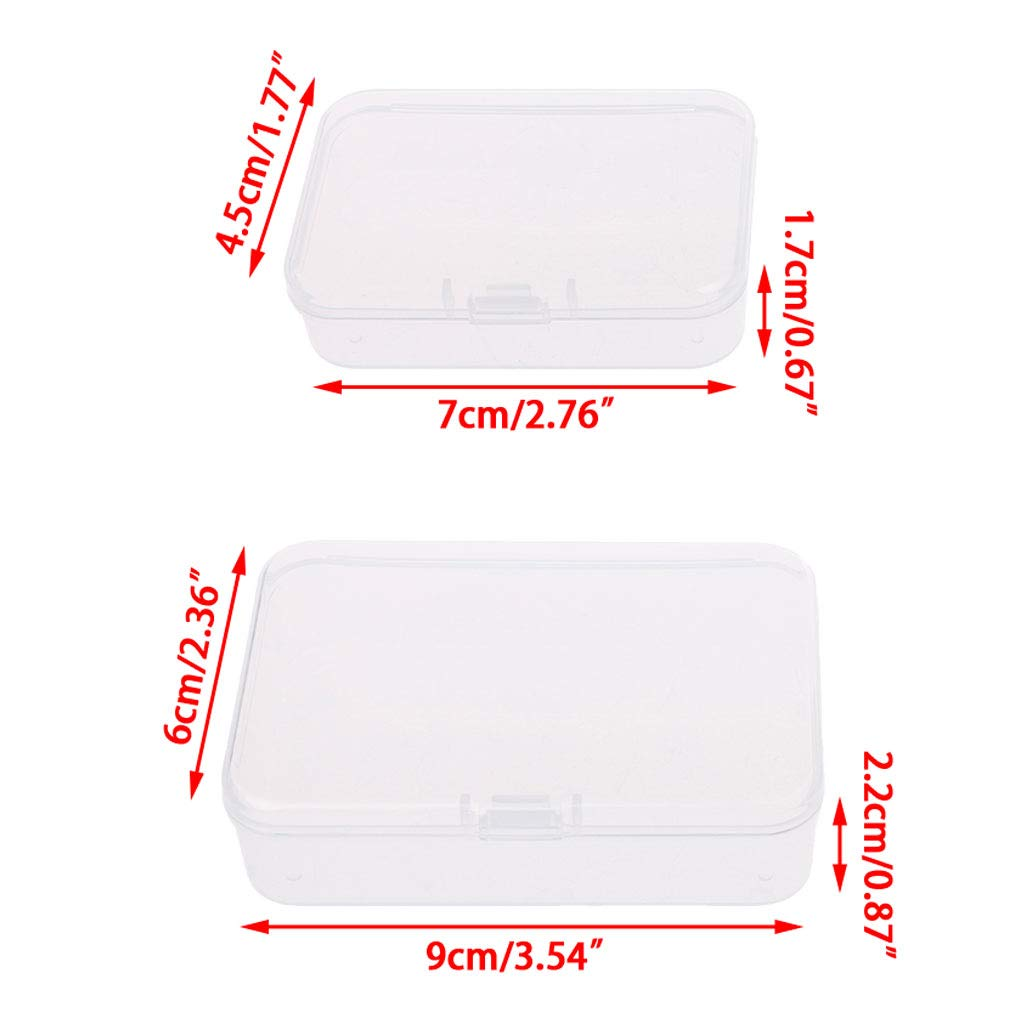 SimpleLife Coin Holder Capsule Storage Case Display Box with lid ...