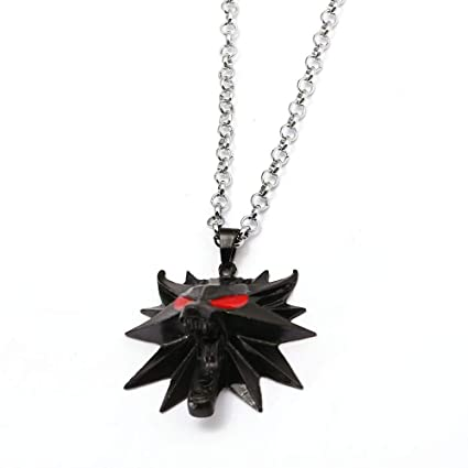 FITIONS - Game The Witcher 3 Necklace Chains Metal The Hunt ...