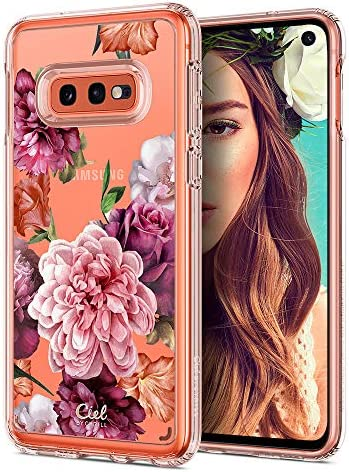 CYRILL Ciel [Cecile Collection] Designed for Samsung Galaxy S10e Case (2019) – Rose Floral