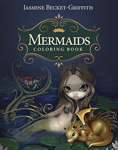 Top 8 Best Adult and Childrens Mermaid Colouring Books 1