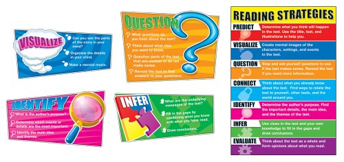 - Carson Dellosa Reading Strategies Bulletin Board Set (110103)