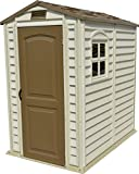 Best Vinyl Shed With Floors - Duramax 30621 StorePro Vinyl Shed with Floor, 4 Review