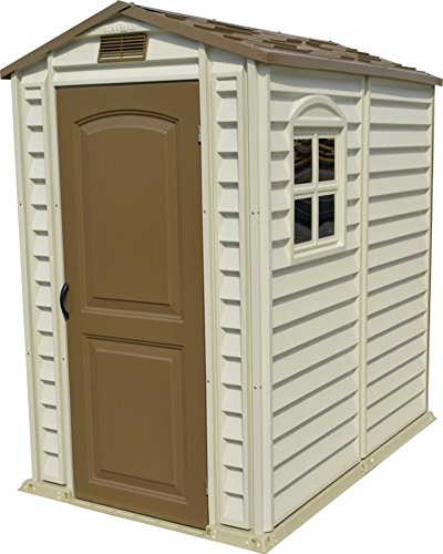 duramax 30621 storepro vinyl shed with floor 4 by 6 inch - Garden Sheds Vinyl