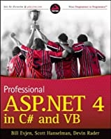 Professional ASP.NET 4 in C# and VB Front Cover