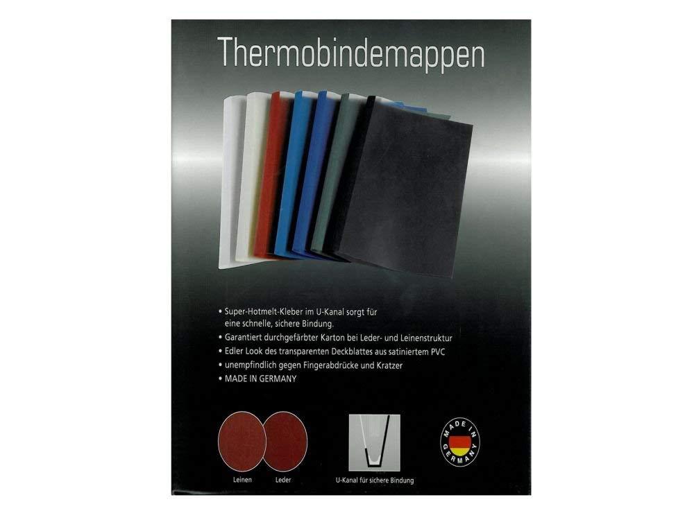 /Copertine per Rilegatura Termica tasca dilatabile Satin vords e bmweiss anteriore 220/g//m/² 2/mm 50/pezzi LMG LMG-R2/