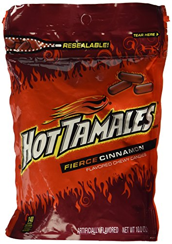 Hot Tamales Chewy Cinnamon Candy 10 oz