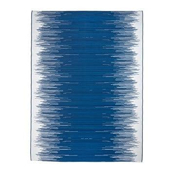 Teppich blau weiß gestreift  IKEA SOMMAR 2016 Teppich in blau/weiß gestreift; flach gewebt; für ...