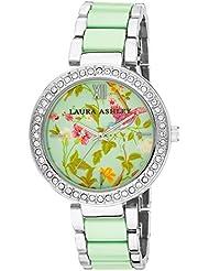 Laura Ashley Womens LA31007BL Two-Tone Summer Duck Bracelet Watch